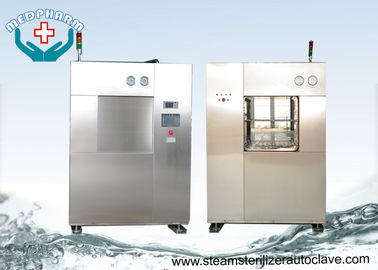 Animal Cages BSL3 Veterinary Autoclave With Safety Relief Valve And Alarms