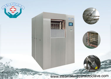 PLC Control Systems Horizontal Autoclave Sterilizer With Advanced Sterilization Cycles